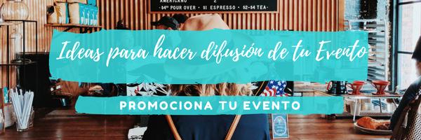 Ideas para hacer difusión de tu Evento - Banner